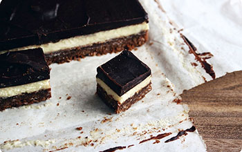 Alice Medrich's No-No Nanaimo Bars
