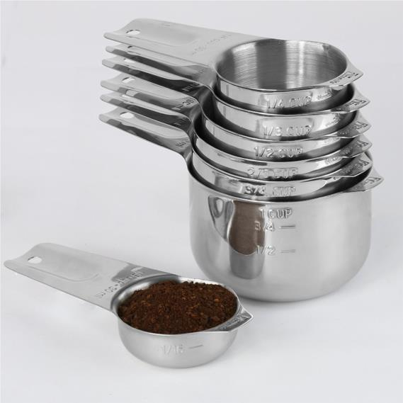 1Easylife Upgraded 18/8 Stainless Steel Measuring Cups